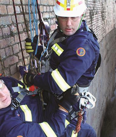 Vertical Rescue Training cropped