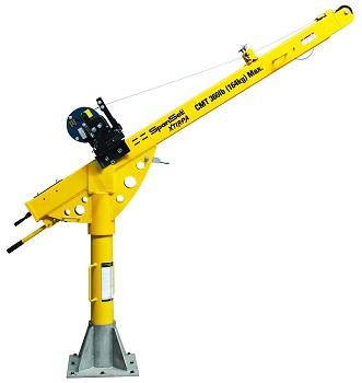 XT96 96 Inch Davit Mast Kit Flat S