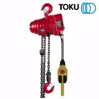 0006919 air allied sales toku tcr1000pe 1000kg air chain hoist cw load limiter 550