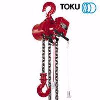 0007205 air allied sales toku tcr3000c 3000kg air chain hoist cw load limiter 550