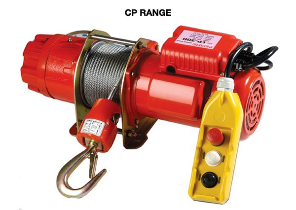 Comeup Electric Winches CP Range