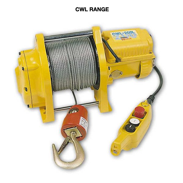 Comeup Electric Winches CWL Range