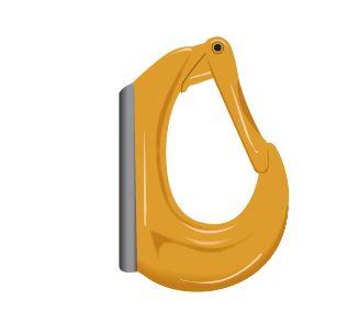 EXCEL® Excavator Hook, Grade 8